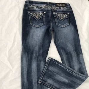 Premier Rue 21 Embroidered sequence to cut denim